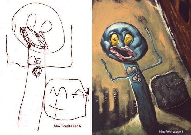 As a child sees it - artwork by David De Vries
