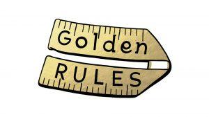 Sally O'Reilly Golden rules