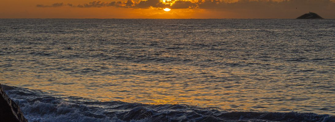 Sunrise at Garryvoe
